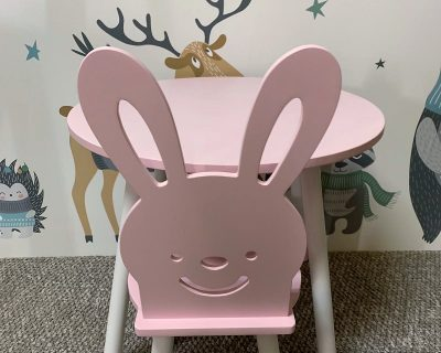 krzesełko zając dla dzieci