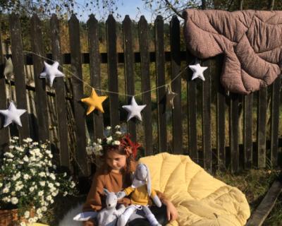 girlanda gwiazdki miodowe