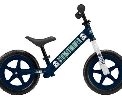 metalowy rowerek biegowy