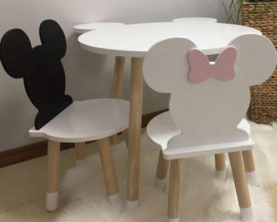 stolik dla dzieci myszka