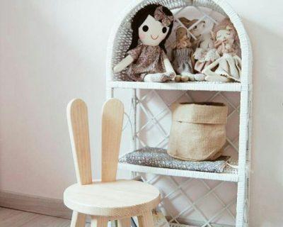 krzesełko drewniane dla dzieci