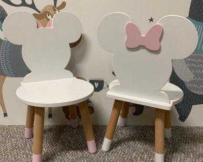 krzesełko dziecięce myszka Minnie