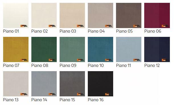 kolory materiałów do huśtawki