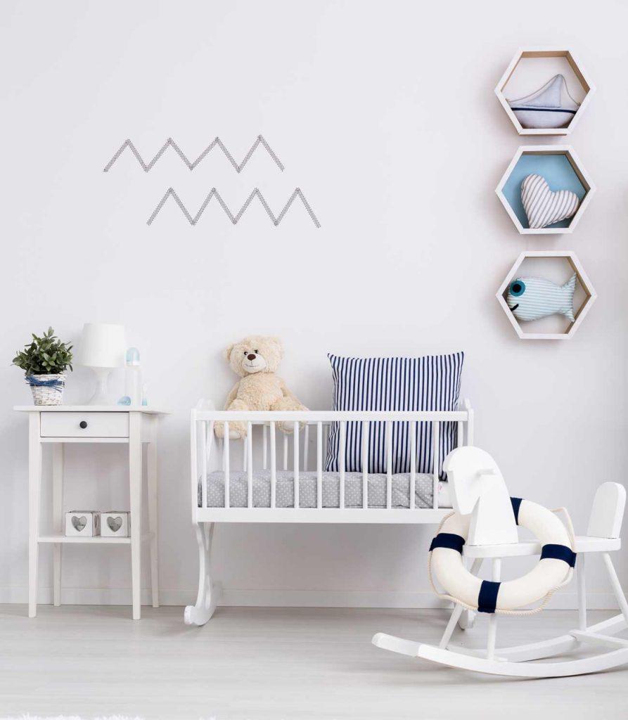 baseny z kulkami, poduszki dla dzieci, półki do pokoju dziecka