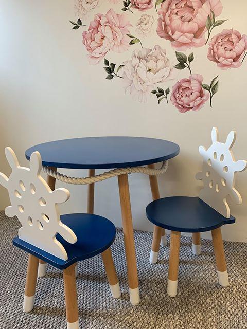 stół dla dzieci - marynarski