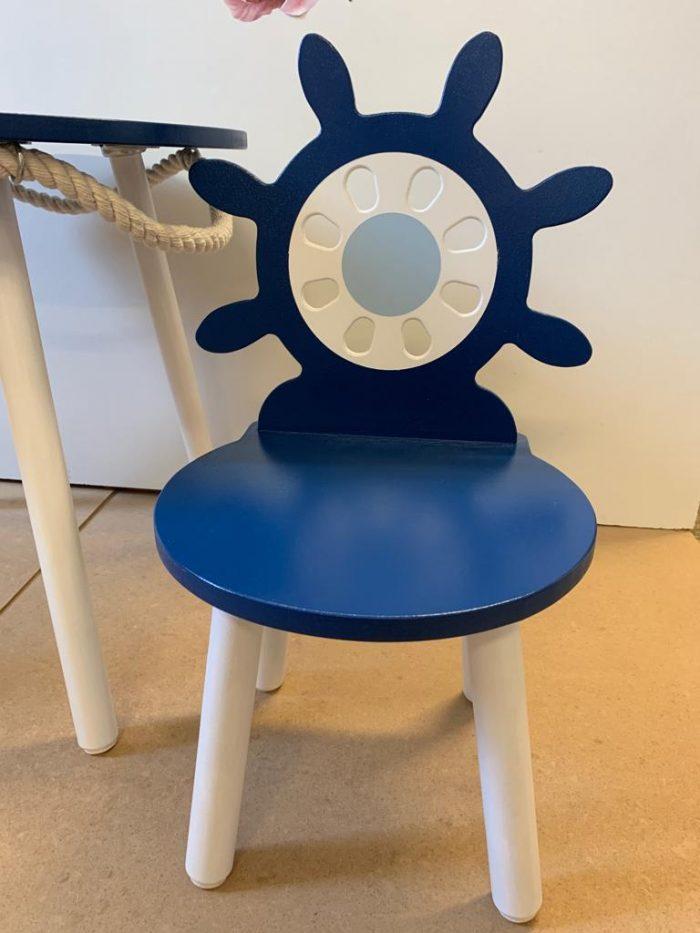 krzesełko marynarskie do pokoju dziecka
