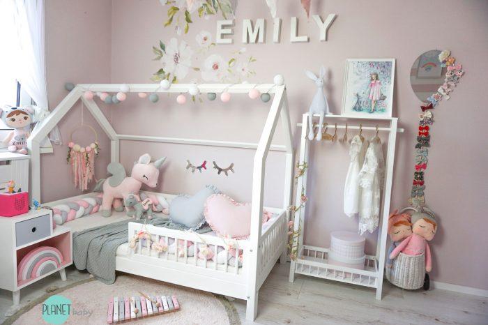 do pokoju dziecka domek łóżko