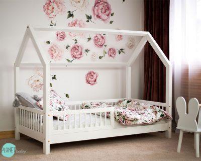 łóżko domek do pokoju dziecka