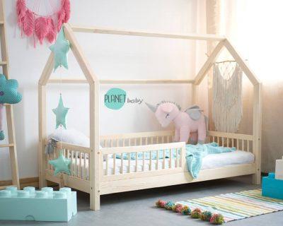 łóżko domek do pokoju dziecięcego